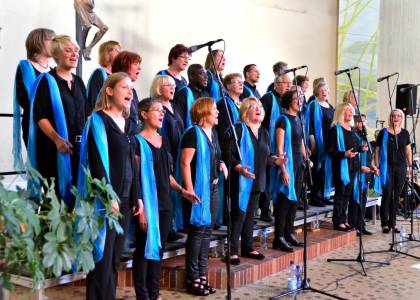 Gospelchor Braunschweig singt am 26.10.19 für die Orgel