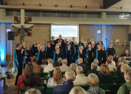 Rückblick: Gospelchor Braunschweig sang am 26.10.19 für die Orgel